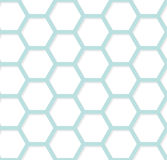 Modern geometric hexagonal background. Vector abstract simple pa Royalty Free Stock Image
