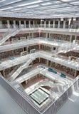 Modern Geometric Interior Architecture Stuttgart City Library Germany Royalty Free Stock Image
