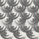 Modern geometric ornament background with rows of circles Royalty Free Stock Image