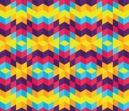 Modern-Geometric-Pattern-003 Lizenzfreies Stockbild