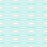 Modern geometric pattern in pale baby colors Royalty Free Stock Photos