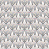 Modern geometric pattern with triangles Royalty Free Stock Photography