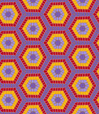 Modern geometric seamless colorful pattern Stock Images