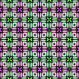 Modern Geometric Seamless Pattern Stock Photography