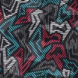 Modern geometric seamless pattern Royalty Free Stock Photography