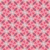 Modern geometric seamless pattern, mauve ornament. Ethnic seamless pattern. Use for wallpaper, pattern fills, web page background Royalty Free Stock Photos
