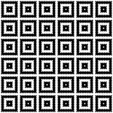 Modern geometric seamless pattern. Repetitive vector design in black and white. Modern geometric seamless pattern. Repetitive vector design in black and white royalty free illustration