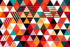 Modern geometric shapes background Stock Image