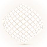 Modern geometric texture in White backgrounds Royalty Free Stock Image