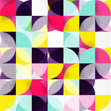 Modern geometrical abstract background circles. Modern geometrical abstract background - circles. Business or technology presentation design template, brochure Royalty Free Stock Photo