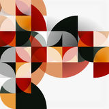 Modern geometrical abstract background circles Royalty Free Stock Photo