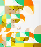 Modern geometrical abstract background Stock Photos