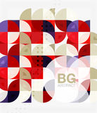 Modern geometrical abstract background Stock Image