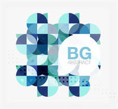 Modern geometrical abstract background Stock Photo