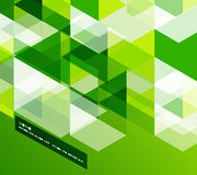 Modern geometrical abstract template Royalty Free Stock Images