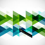 Modern geometrical abstract template Royalty Free Stock Photos