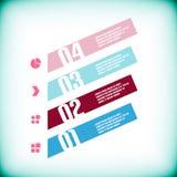 Modern geometrical banner design template Stock Photos