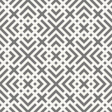 Modern geometrical tiles ornamental background - vector seamless Stock Photo
