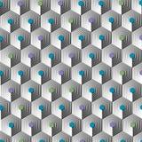 Modern-geometrisch-patroon-003 Stock Afbeeldingen