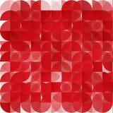Modern geometrisk abstrakt bakgrund för vektor Arkivfoto