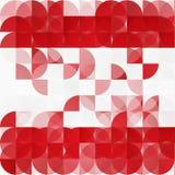 Modern geometrisk abstrakt bakgrund för vektor Arkivbilder