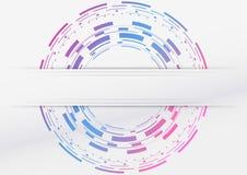 Modern geometrisk abstraktion med färgrik backg Royaltyfri Foto