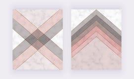 Modern geometrisk r stock illustrationer