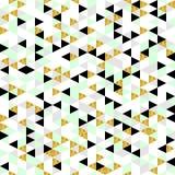 Modern geometrisk sömlös modell Royaltyfria Bilder
