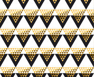 Modern geometry American indian tribal seamless pattern. Stock Photos