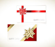 Modern gift card templates Royalty Free Stock Photo