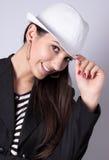 Modern girl Stock Image
