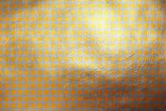 Modern glanzend gouden en zilveren uniek dynamisch digitaal textuurpatroon Abstract element als achtergrond/Ontwerp Stock Foto's