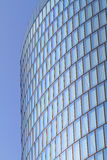 Modern glas facade of office tower Royalty Free Stock Photos