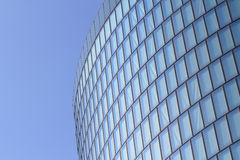 Modern glas facade of office tower Stock Photo