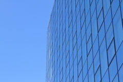 Modern glas facade of office tower Stock Image