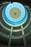 Modern glasdak van de bouw Royalty-vrije Stock Afbeelding
