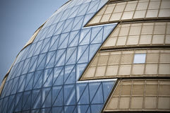 Modern Glass Architecture. In City of London, UK royalty free stock image