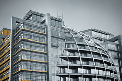 Modern Glass Architecture. In City of London, UK royalty free stock images
