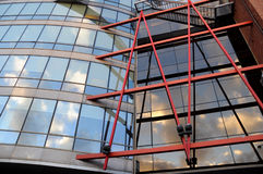 Modern glass architecture Royalty Free Stock Photography