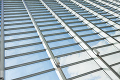 Modern glass architecture Stock Image