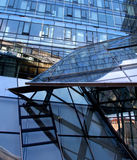 Modern glass architecture of the office building Stock Image