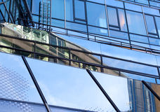 Modern glass architecture of office building Royalty Free Stock Photography