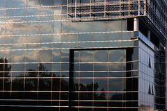 Modern glass building Royalty Free Stock Photos