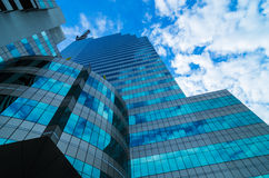 Modern glass building Stock Image