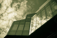 Modern glass building abstract Royalty Free Stock Photography