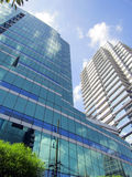 Modern glass building. Architecture photo Stock Photography