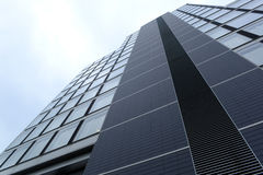 Modern glass building of centre Sofia, Bulgaria, Oct 6, 2014 Stock Images