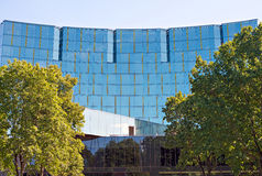 Modern glass building. Stock Images