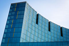 Modern glass building. Royalty Free Stock Photography