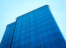Modern glass building. Royalty Free Stock Images